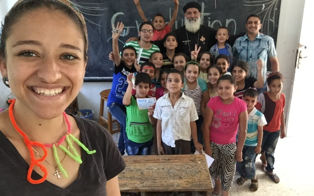 Egypt's People 'Taught Me the Definition of Gratefulness' — Magy Mekhail Reflects on Serve to Learn
