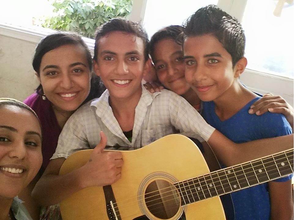 Egypt's Kids, Music & 'Pure Joy' — Crestin Andrews Recalls Serve to Learn