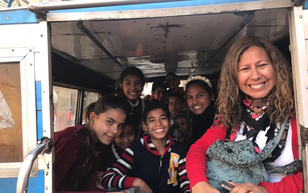 'I Feel Blessed to Have Had That Experience' – Mary Helmy Reflects on Serve to Learn